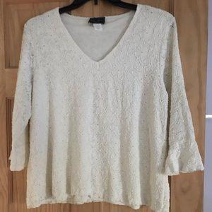 V neck blouse
